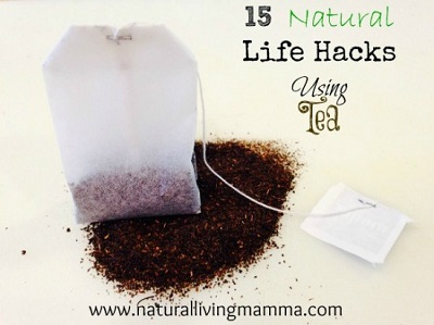 15 Natural Life Hacks Using Tea