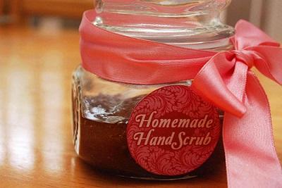 Homemade Coconut Ginger Hand Scrub