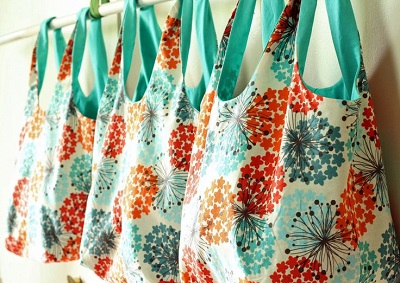 How to Make Simple, Reusable Market Bags