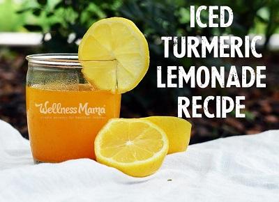 Iced Turmeric Lemonade Recipe 1