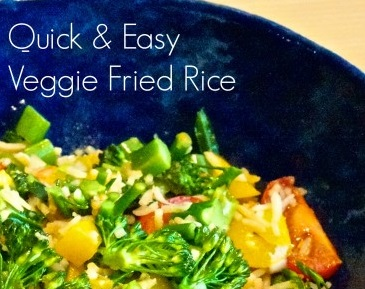 Quick and Easy Veggie Fried Rice