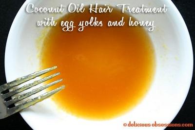 coconut-oil-hair-treatment-with-egg-yolks-and-honey