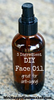 3 Ingredient DIY Face Oil