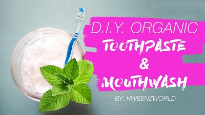 DIY Toothpaste & Mouthwash