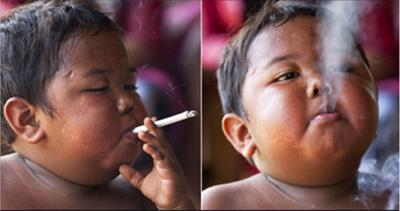 The Boy Who Smokes 40 Cigarettes a Day