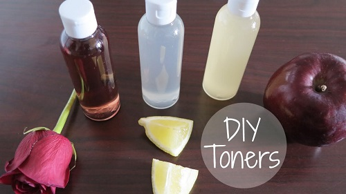3 DIY Natural Face Toners