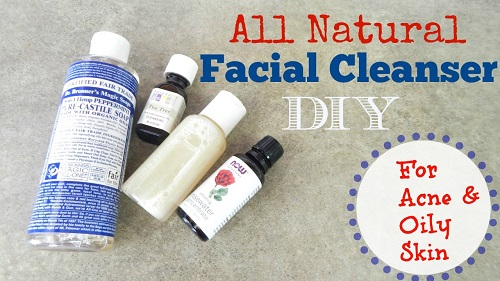 DIY Facial Cleanser Recipe - Acne Prone Skin
