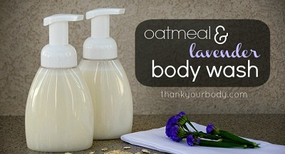 Oatmeal Infused Body Wash