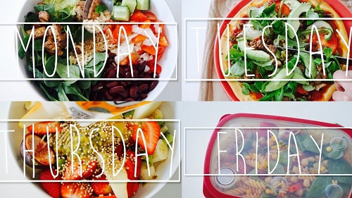 A Week Of Lunches