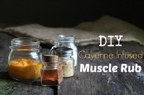 Cayenne-Infused Muscle Rub