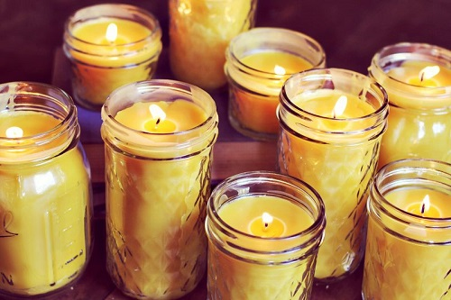 DIY Beeswax Candle