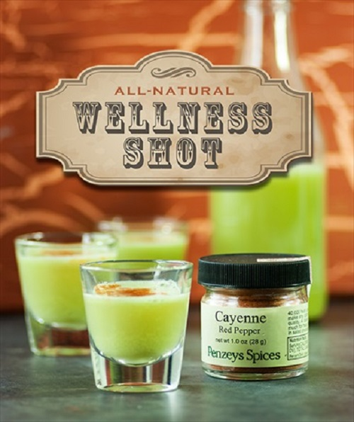 Homemade Wellness Juice Shot Recipe