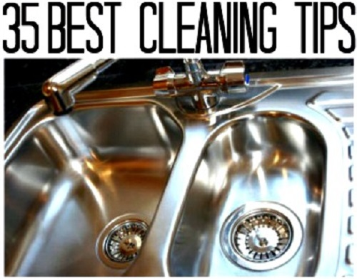 35 Best Natural Cleaning Tips