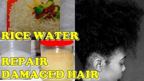 DIY Rice Water Rinse for Healthy Natural Hair