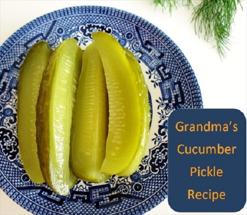 Grandma's Cucumber Dill Pickle