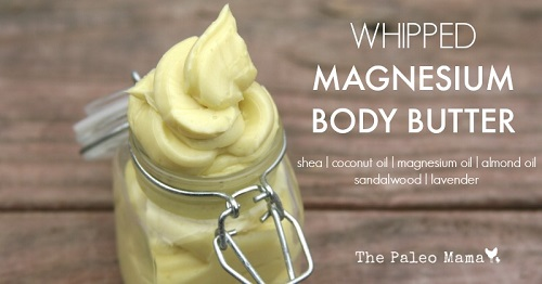 Whipped Magnesium Body Butter