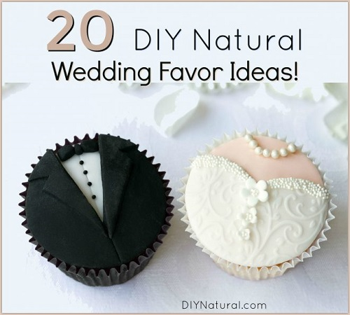 DIY Natural Wedding Favors