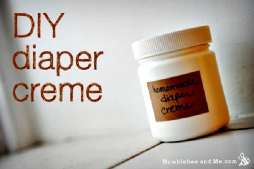 Homemade Diaper Crème Recipe