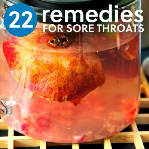 22 Natural Sore Throat Remedies