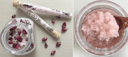 DIY Himalayan Salt Scrub and Bath Salts