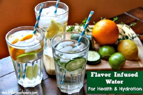 Healthy Flavor-Infused Water