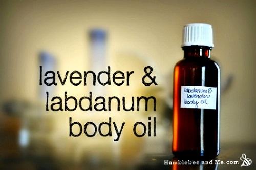 Lavender & Labdanum Body Oil