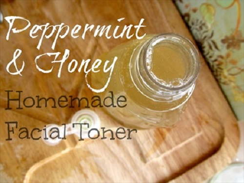 Peppermint And Honey Facial Toner