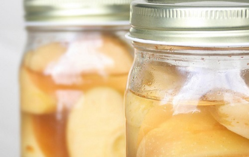 Probiotic-Rich Fermented Cinnamon Apples