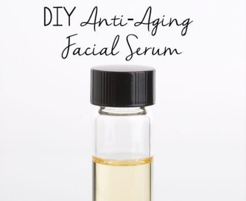 DIY Anti-Aging Facial Serum