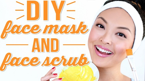 DIY Face Mask + DIY Face Scrub For Healthy Skin