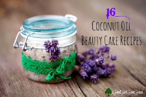 Homemade Coconut Oil Beauty Care Recipes