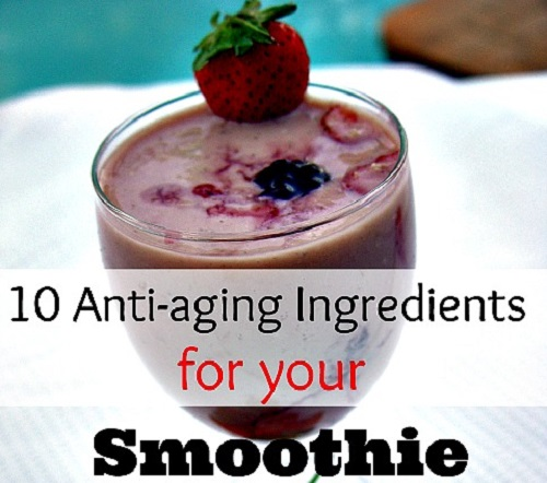 Anti-aging Ingredients to Add to Your Morning Smoothie