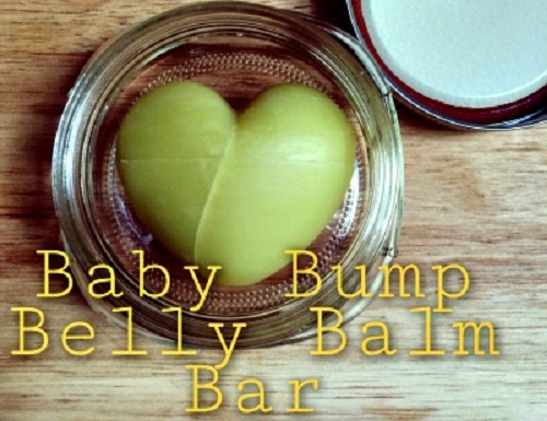 Baby Bump Belly Balm Bar