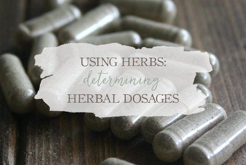 Determining Herbal Dosages