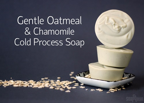 Gentle Oatmeal Baby Soap
