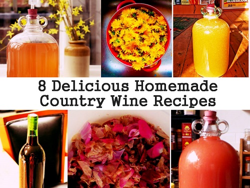 Homemade Country Wine Recipes