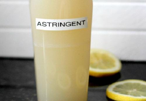 Homemade Citrus Astringent