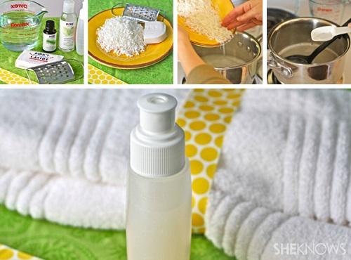 Homemade Lemongrass Body Wash