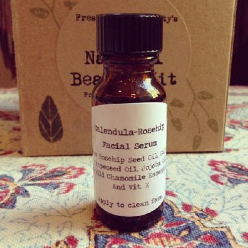 Anti-Aging Calendula-Rosehip Facial Serum