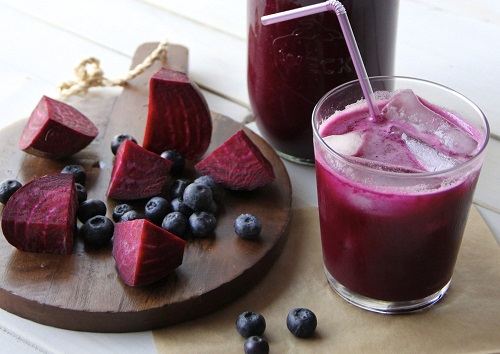Beet & Berry Liver Cleanse Juice