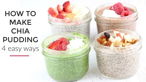 Chia Pudding Recipe 4 Ways