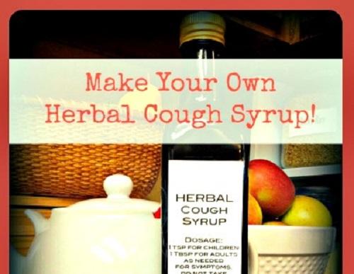 DIY Herbal Cough Syrup Recipe
