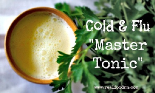 Homemade Cold and Flu Master Tonic