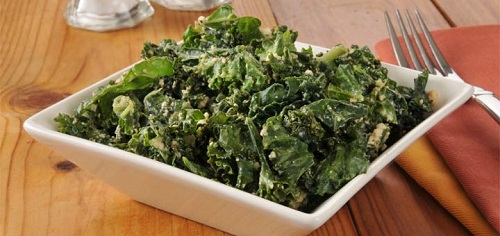 Kale Salad With A Lemon Vinaigrette