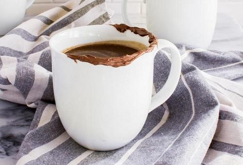 Turmeric Mocha Hot Chocolate